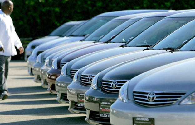 Спад в продажбите на Toyota