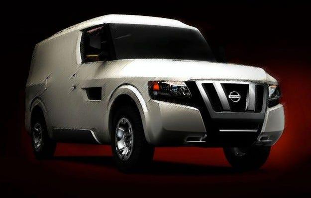 Nissan NV 2500: Загадката