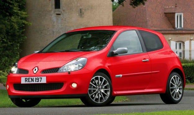 Renault Clio RS 197 LUX: Варда! Пази се!