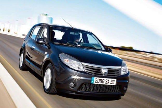 Dacia: Sandero и Logan на пропан-бутан