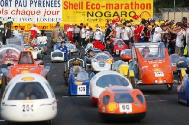 """Shell """"Еко-маратон 2007"""": Най-мащабното екологично предизвикателство в историята"""
