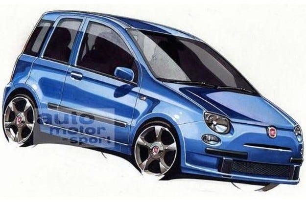 Fiat Topolino: Мишокът