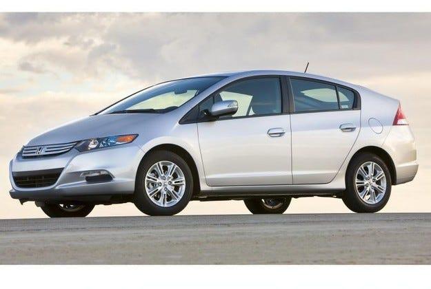 2009 Honda Insight Hybird: Серийното изпълнение
