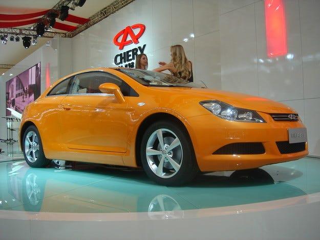 Chrysler и Chery прекратиха партньорството си