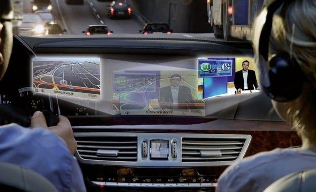 Mercedes екипира S-класа с иновативен дисплей