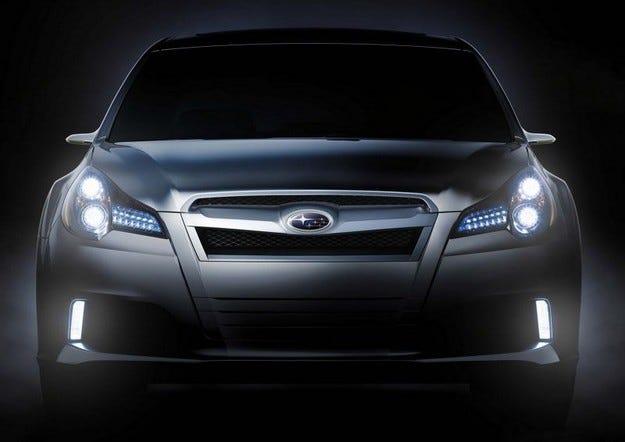 Subaru Legacy Concept: Завещанието