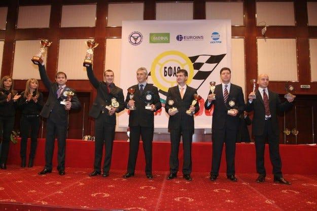БФАС награди шампионите