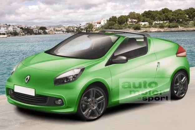 Разкрито: Renault Twingo кабриолет