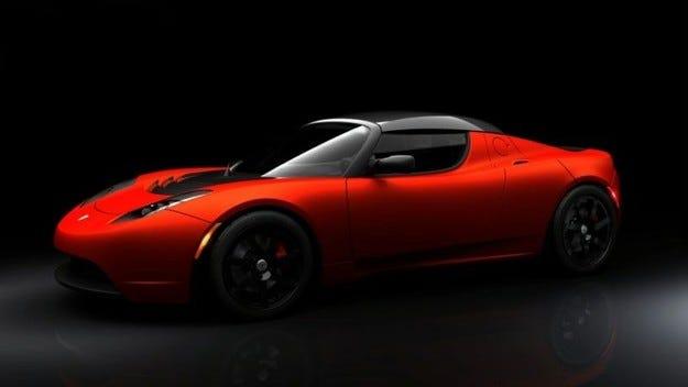 Представен бе Tesla Roadster Sport