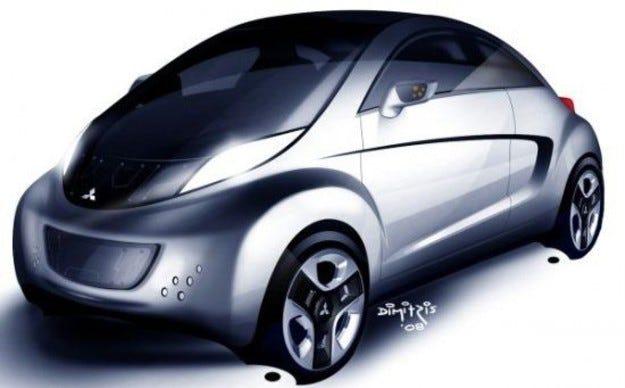Mitsubishi i MiEV Sport Air: Екоспорт