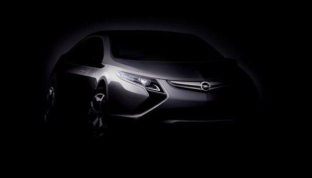 Opel Ampera: Volt с марката Opel