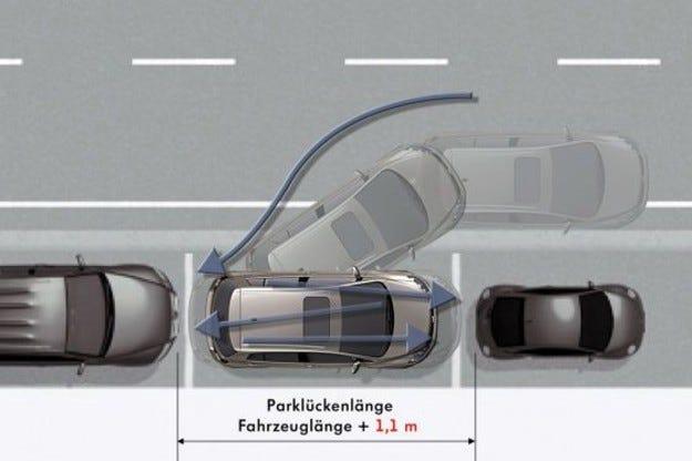 Нов асистент за паркиране на VW
