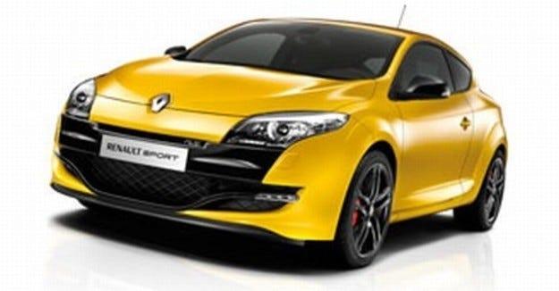 Разкрито: Renault Megane RS