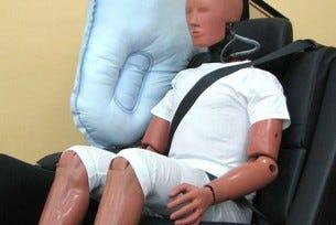 Toyota демонстрира иновативна въздушна възглавница
