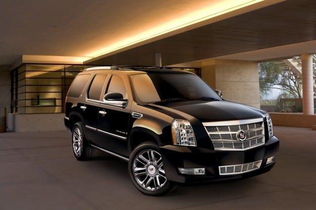 Cadillac Escalade Hybrid Platinum: Пропаганда