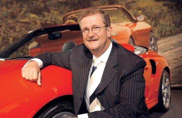 Porsche отрича за уволнението на Видекинг