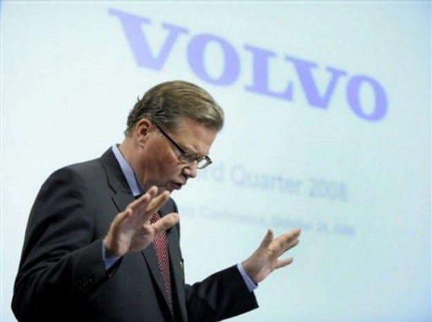 Volvo търпи по-големи от очакваните загуби