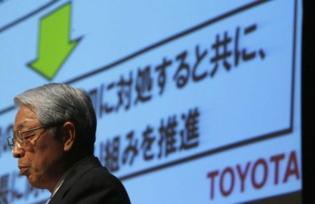 Исторически загуби за Toyota през 2008/2009 г.