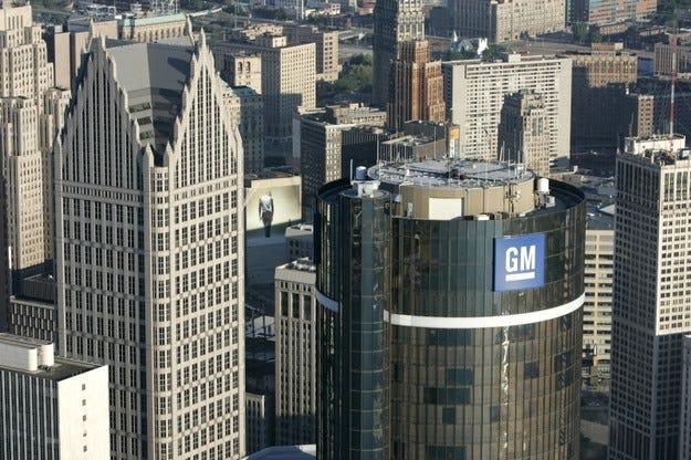 GM загуби 6 млрд. долара за три месеца
