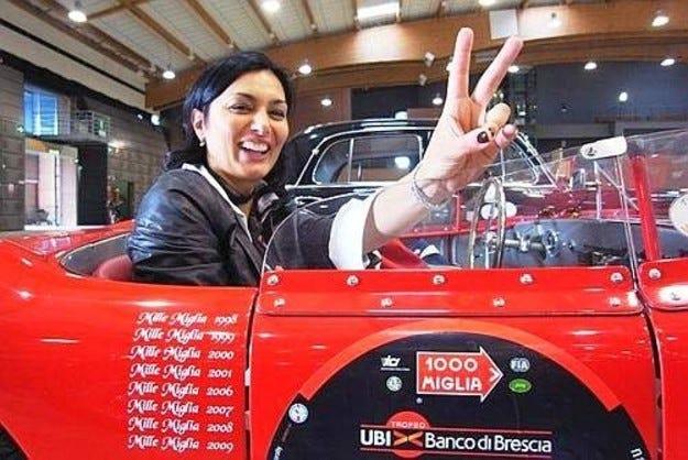Mille Miglia: Когато зад волана седи жена