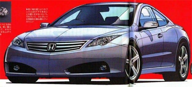 Нова посока: Acura прави купе с 4 врати