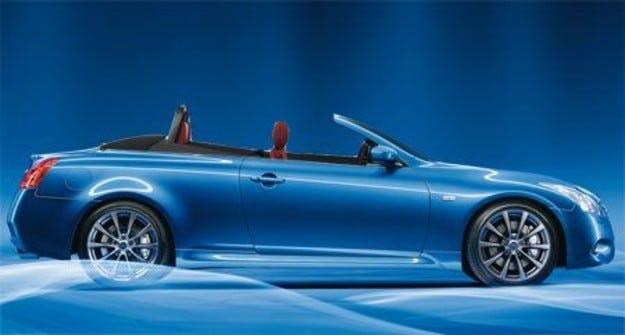 Infiniti G37 кабрио: Цени от $43 850 в САЩ
