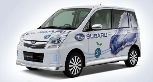 Subaru Stella EV: Детска играчка