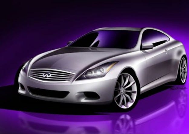 Infiniti G37 Coupe: Nissan на автомобилното изложение в Ню Йорк