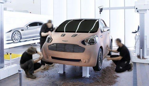 Aston Martin Cygnet: Грозното пате