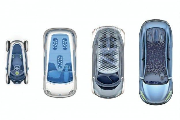 Четири електромобила ще представят Renault на IAA