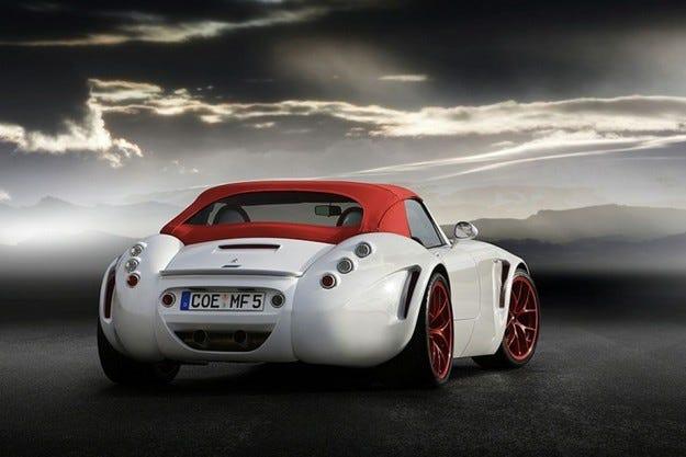 Wiesmann MF5 Roadster: Капка по капка