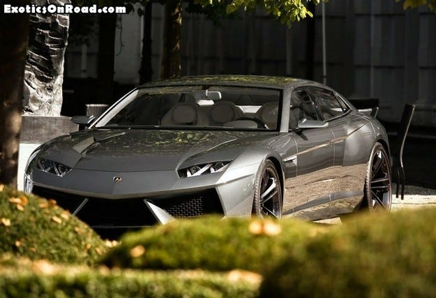 Разкрито: Lamborghini Estoque