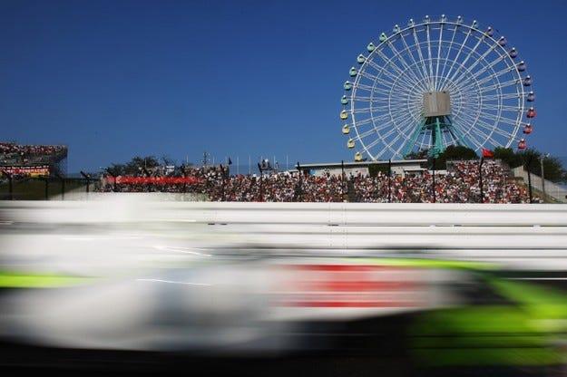 Гран при на Япония: Куп наказания преди старта