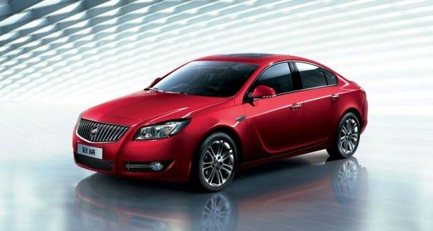 Buick Regal: US Opel Insignia