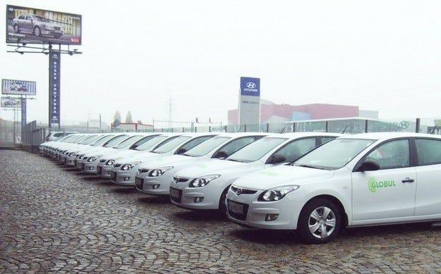 Globul отново попълни автопарка си с автомобили Hyundai