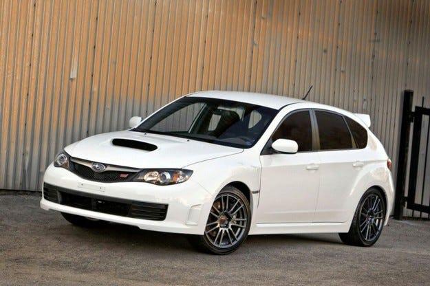 Subaru Impreza WRX STI Special Edition: Белият войн