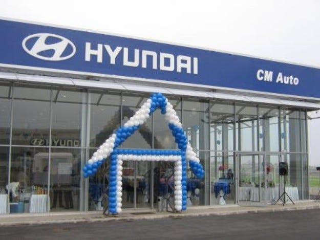 Нов продажбено-сервизен комплекс на HYUNDAI в Бургас