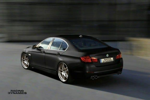 Racing Dynamics BMW 5: Бърза работа