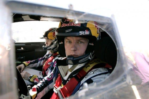 Райконен катастрофира при дебюта си с C4 WRC