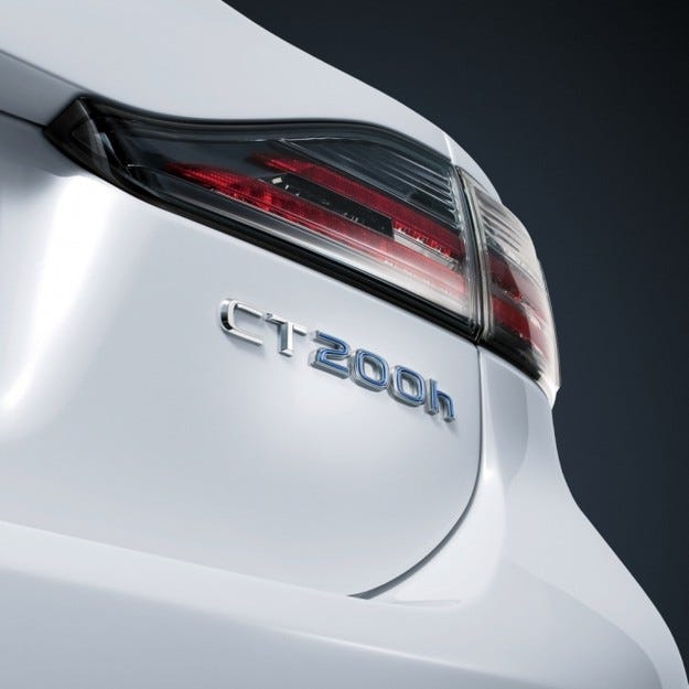 Lexus CT 200h: Серийния LF-Ch