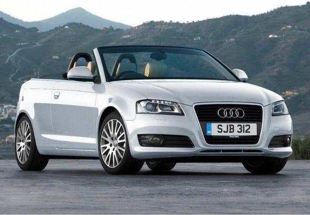 Audi A3 Cabriolet: Размерът е без значение