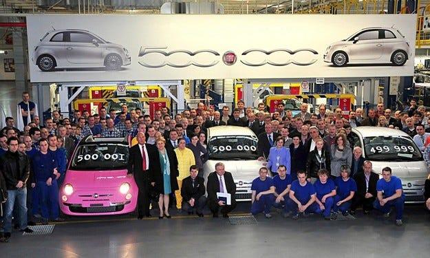 Fiat 500: 500 000