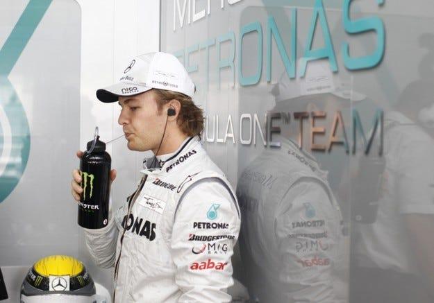 Розберг: Знаех, че ще ми е трудно да следвам пилотите на Red Bull