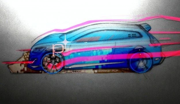Polestar C30 Performance Concept Prototype: Стандартен спорт