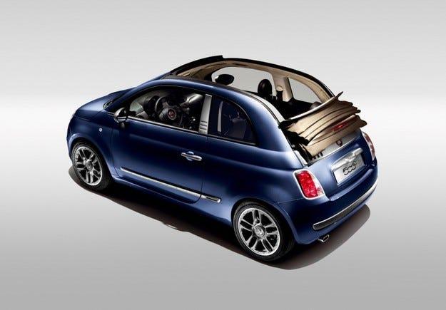 Fiat 500C by Diesel: Дизел и деним