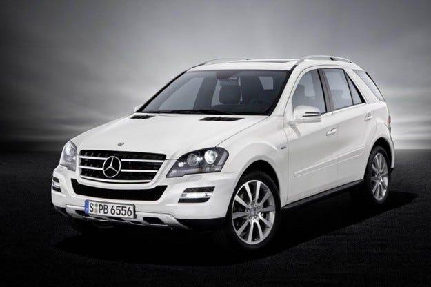 Mercedes M-класа Grand Edition: Бонус