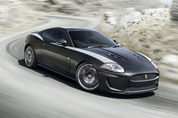 Jaguar XKR 75: Честит юбилей