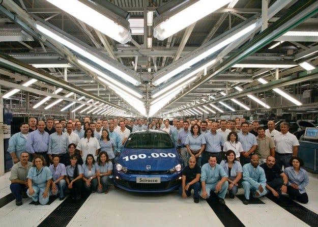 VW Scirocco: 100 000 на пътя