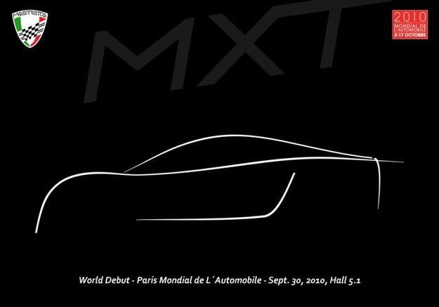 Mastretta MXT: На подиума в Париж