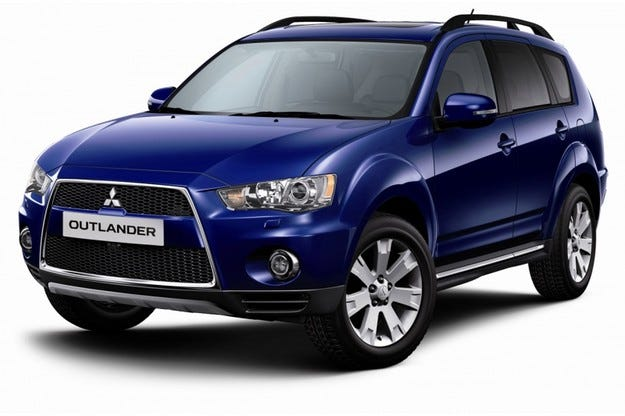 Mitsubishi Outlander: Зелена промяна
